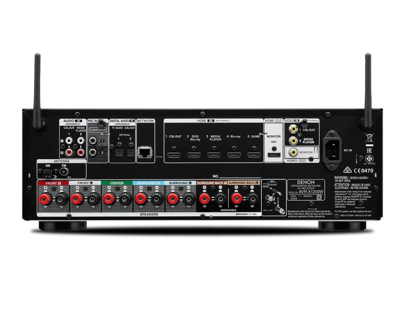 DENON AVR-X1200W ถูกใจ   ใช่เลย
